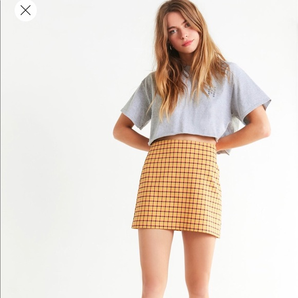 5564fb0f2 Urban Outfitters Skirts | Venice Plaid Mini Skirt | Poshmark